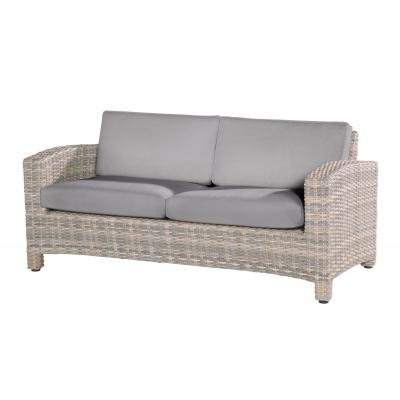 4 Seasons Outdoor Sofa Mambo 2.5-Sitzer Sitzbank Polyrattan lagun