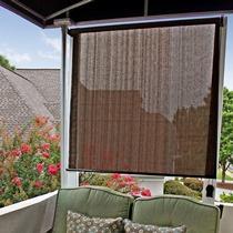 Radiance 2310014 Sun Shade Roll Up Shade Cocoa 72x72 Window Tr