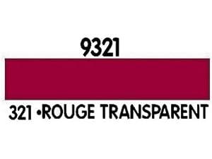 Heller - Avion Miniature - Peinture Acrylique Rouge transparent 12ml - 9321