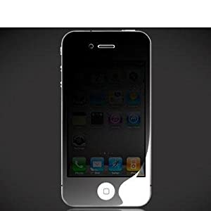 Privacy LCD Screen Protector Film Guard Cover for AT&T Apple iPhone 4 4G by Electromaster
