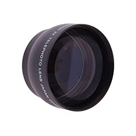 1452T-R 52mm 2X Professional High Speed Auto Focus Deluxe Super Telephoto Lens (Black)