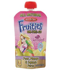 Beech-nut Fruities On-the-go Pear, Mango, Squash 8/4 Oz Pouches