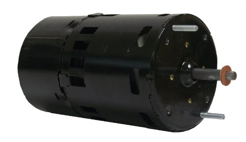 Fasco D408 3.3-Inch Diameter Shaded Pole Motor, 1/150 Hp, 115 Volts, 3000 Rpm, 1 Speed, 0.5 Amps, Cw Rotation, Sleeve Bearing