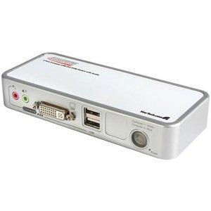 Startech.Com 2 Port Usb Dvi Kvm Switch Kit With Cables Usb 2.0 Hub & Audio - 2 X Type B Keyboard/Mouse