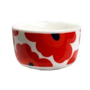 Marimekko Unikko Red Dip Dish 250 ml