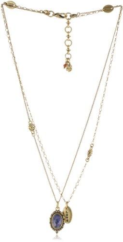"Lucky Brand ""West Coast BFF Necks"" Gold-Tone Love Pendant Necklace"