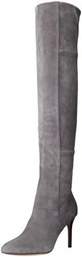 Cole Haan Women's Marina Otk Slouch Boot, Light Storm Cloud Suede, 8.5 B US (Cole Haan Dress Boots For Women compare prices)