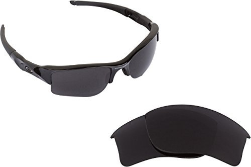 New SEEK OPTICS Replacement Lenses for Oakley FLAK JACKET XLJ - Advanced Black