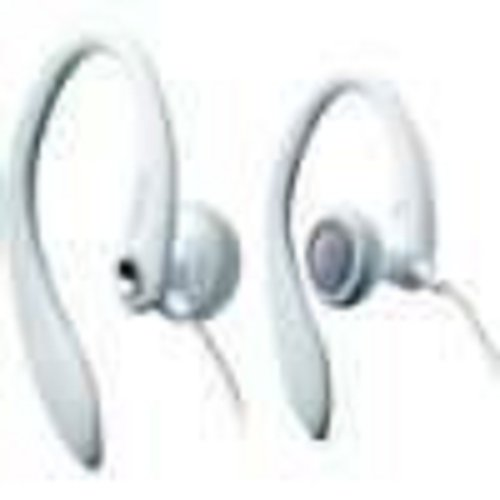 Vibe Active Sport Stereo Headphones (In-Ear) White