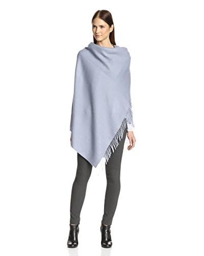 Alicia Adams Alpaca Women's Herringbone Wrap, Dusty Acqua