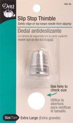 Great Features Of Dritz(R) Slip-Stop Thimble-Extra Large