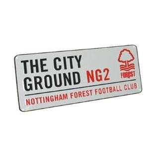 Nottingham Forest FC. Metal Street Sign by Nottingham Forest FC