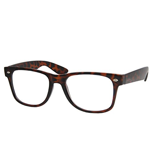 High Magnification Power Readers Wayfarer Reading Glasses 4.00-6.00 Tortoise/4.50 (Readers 450 compare prices)