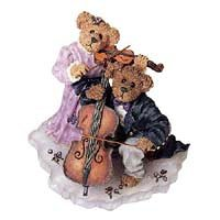 Boyds Bears & Friends the Bearstone Collection Amanda and Michael... String Section (Boyds Resin Figures compare prices)