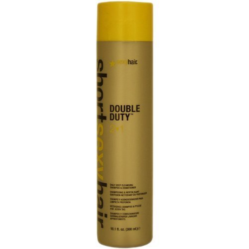Sexy Hair Short Sexy Hair Double Duty 2 In 1 Shampoo and Con