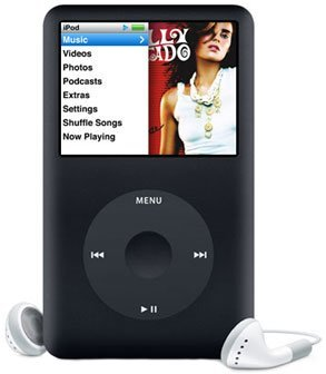 Apple iPod classic 160GB Black (MB150LL/A)