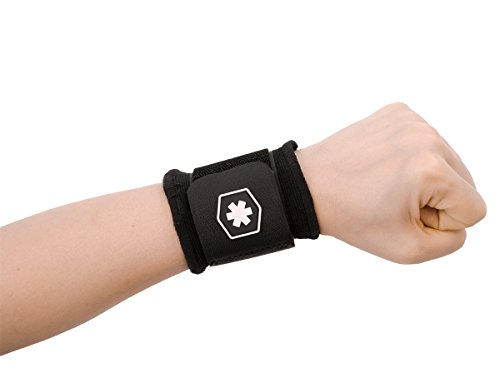 Adjustable Wristband With Strap - Sport Wrist Wrap for Maximum Wrist Support and Immediate Wrist Pain Relief - Perfect for Wrist Tendonitis or Sprained Wrist. IWF567 by ICEWRAPS Fitness (SMALL) (Carpal Tunnel Master compare prices)