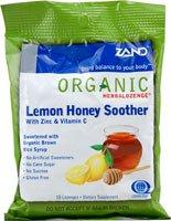 Zand Organic Herbalozenge Lemon Honey Soother -- 18 Lozenges