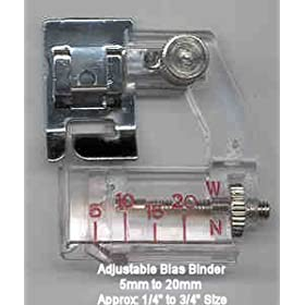 Adjustable Bias Binder Foot