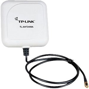 "Brand New Tp-Link Technologies Co., Ltd - Tp-Link Tl-Ant2409A 2.4Ghz 9Dbi Directional Antenna,802.11N/B/G, Rp-Sma Male Connector, 1M/3Ft Cable - Range - Uhf - 9 Dbi - Wireless Data Network, Outdoor - Pole/Wall"" ""Product Category: Wireless Accessories/Ante"