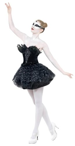 Women's Black Swan Ballet Dancer Costume