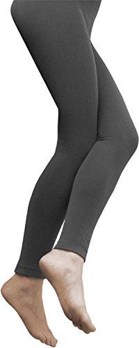2 x Sehr warme Damen Thermo Leggings / innen Fleece mit Elasthan