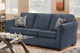 Jayda Sofa, Malibu Blue by Acme Furniture