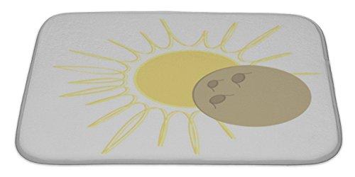 gear-new-bath-rug-mat-no-slip-microfiber-memory-foam-solar-eclipse-flat-design-moon-over-sun-34x21
