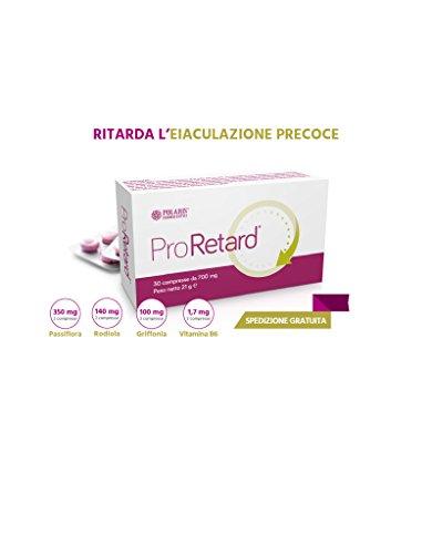 Proretard 30 Compresse Ritardante Eiaculazione precoce Precox Ansia da Prestazione Erezione Erettile Polaris Farmaceutici