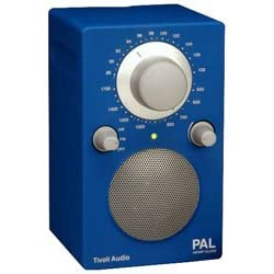 Tivoli Audio PALBLU Portable Audio Laboratory (PAL) AM / FM Radio, Electric Blue