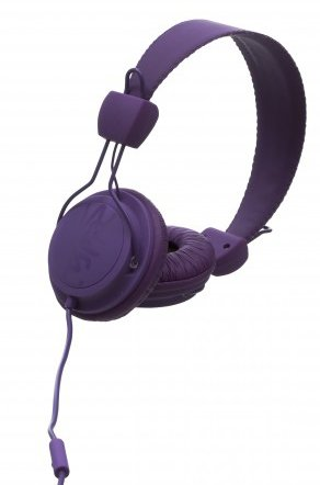 Wesc Matte Conga Headphones Purple Passion, One Size