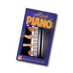 Anyone Can Play Piano [VHS] [Import]