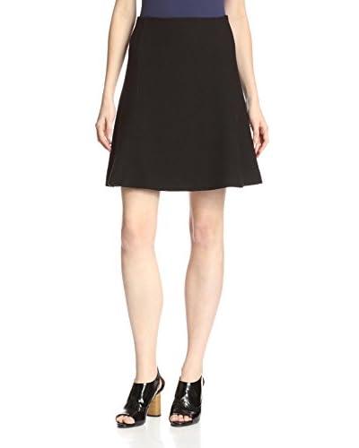 Carven Women's Seersucker Skirt