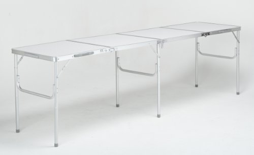 240cm LONG ALUMINIUM FOLDING PICNIC CAMPING TABLE 60