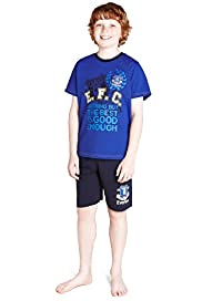 Pure Cotton Everton Football Club Short Pyjamas