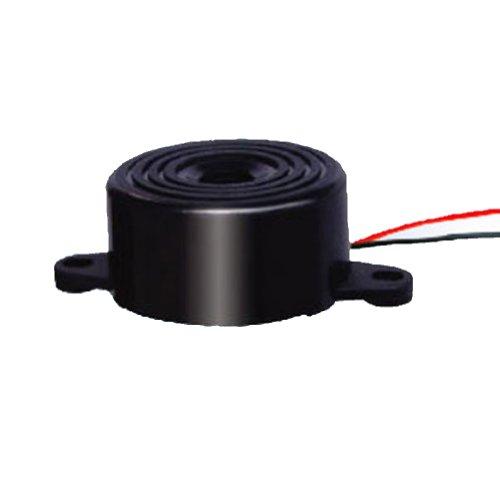 Generic Pack Of 100Pcs Electronic Active Piezo Buzzer Dc 12V Buzzerphone Alarm Speaker Alarm 90Db 3000Hz Black Case