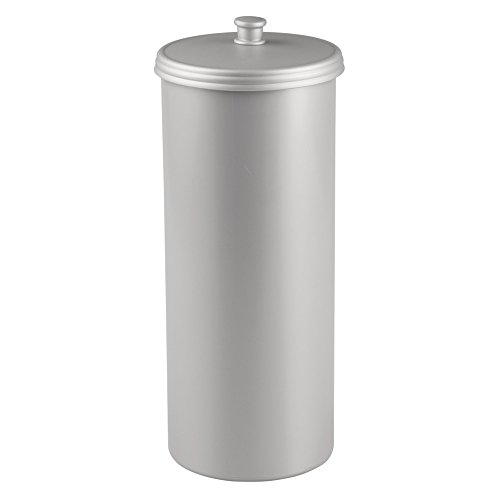 InterDesign Kent Bathware, Free Standing Toilet Paper Roll Holder For Bathroom Storage, Silver (Roll Container compare prices)