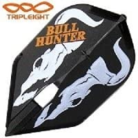 Tripleight X L-Style - Bull Hunter L3C Black Small Standard Size Champagne Dart Flights