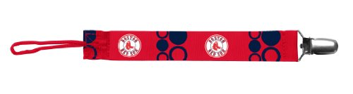 Baby Fanatic Pacifier Clip, Boston Red Sox
