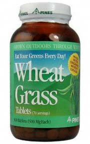 Wheat Grass 500 mg  500 ct