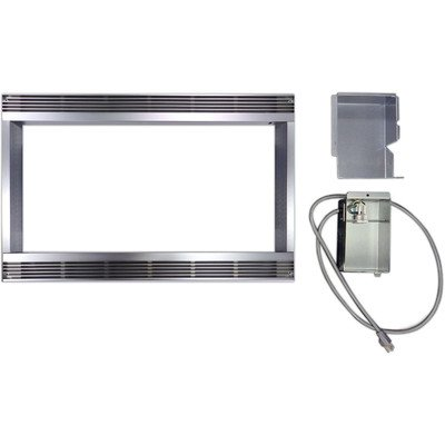 27 In. Built-In Trim Kit for Sharp Microwave R551ZS - Stainless Steel (27 In Built In Microwave compare prices)
