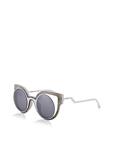 Fendi Occhiali da sole 0137/S TPG/HD (49 mm) Bianco