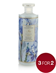 Floral Collection Iris Foaming Bath Cream 500ml