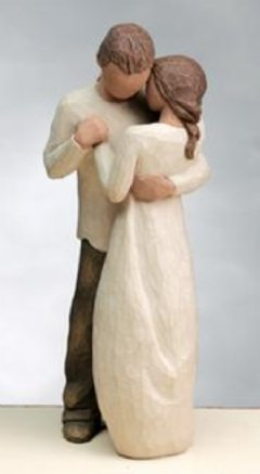 PROMISE Willow Tree Lovers Figurine by Susan Lordi - Ideal Engagement Gift