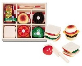 Sandwich Making Set by Melissa & Doug - Buy Sandwich Making Set by Melissa & Doug - Purchase Sandwich Making Set by Melissa & Doug (Melissa & Doug, Toys & Games,Categories)