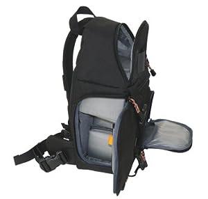 D SLR Digital Video Sling Camera Backpack Daypack C2000 Water Resistant 4 Lenses