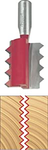 Freud 99-038 Raised Panel V-Joint Router Bit with 1/2-Inch Shank