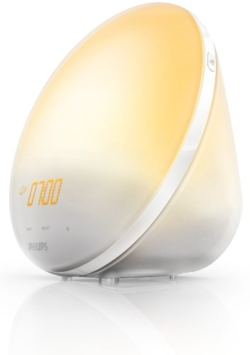 Philips - HF3510/01 - Eveil Lumière avec Lampe