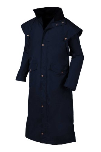Target Dry Mens Stockman 2 Waterproof Coat, Navy
