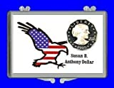 "3″ x 2″ Snaplock Coin Holder for ""United States Susan B. Anthony Dollar"" (With Proof Coin)"